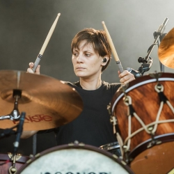 Leah Shapiro, baterista de Black Rebel Motorcycle Club