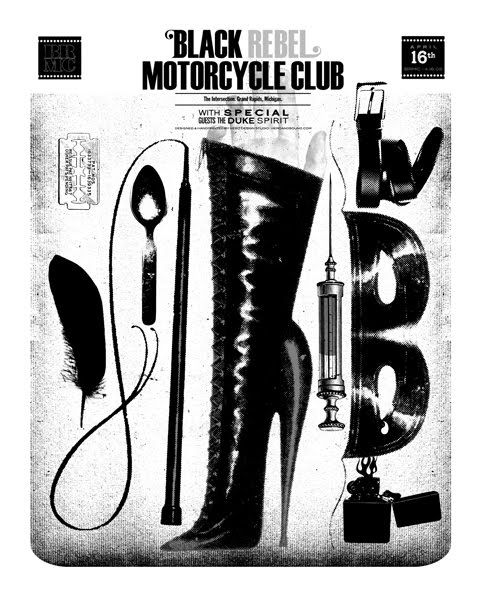 black rebel motorcycle club poster 080416