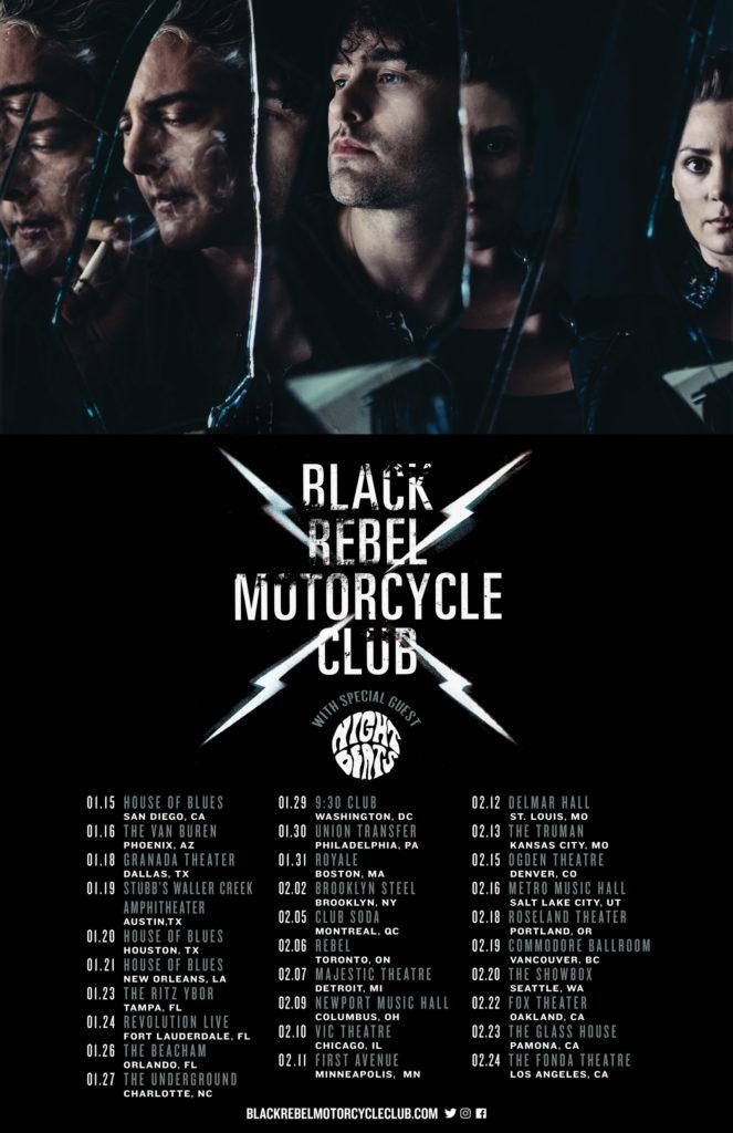 Black Rebel Motorcycle Club Us Tour Dates